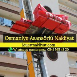 Osmaniye Asansörlü Taşıma