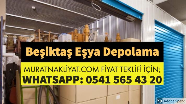 Beşiktaş Eşya Depolama
