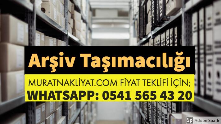 Dosya Arşiv Taşımacılığı